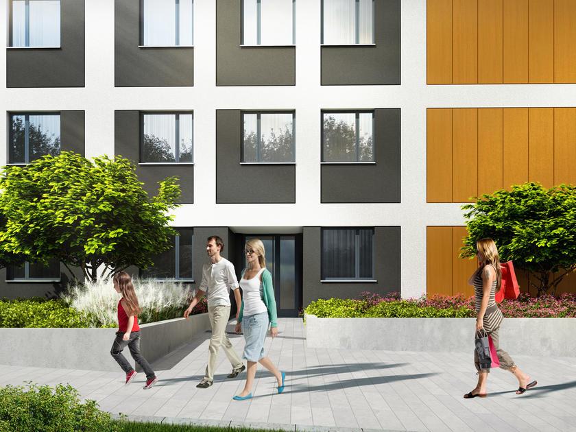 Warszawa -   Mieszkania Wilanów - nowe mieszkania na sprzedaż: Galeria - Wizualizacje - Stacja Kazimierz 4