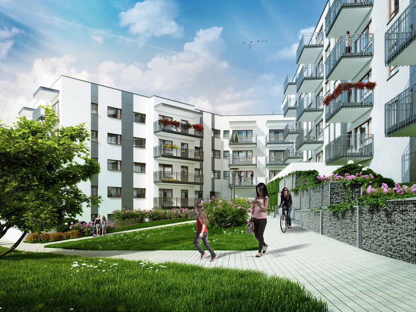 tÄ czowy las new apartments from the developer polnord