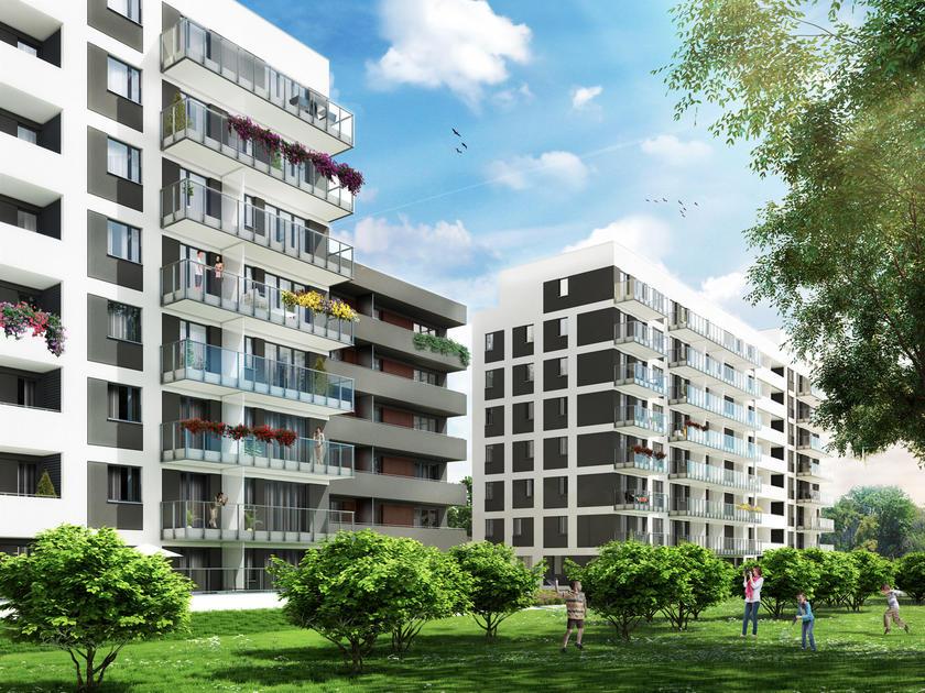 Warszawa -   Mieszkania Wilanów - nowe mieszkania na sprzedaż: Galeria - Wizualizacje - Stacja Kazimierz 3