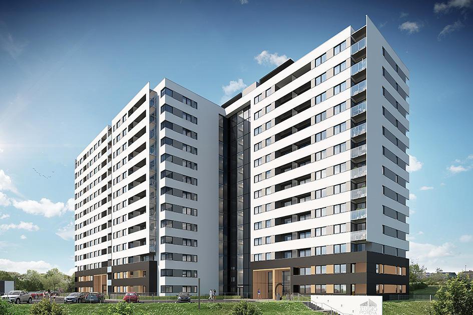 Najnowsze Studio Morena - Nowe mieszkania od dewelopera - Polnord YM01